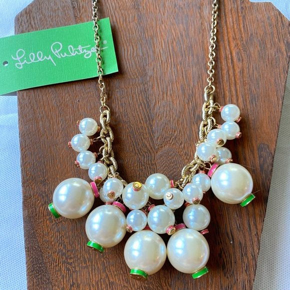 Lilly Pulitzer Goodie Goodie Pearl Necklace